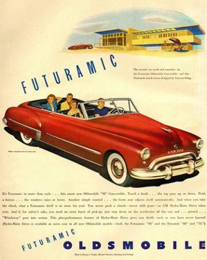 GM Oldsmobile - Futuramic