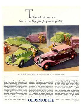 GM Oldsmobile-Genuine Quality