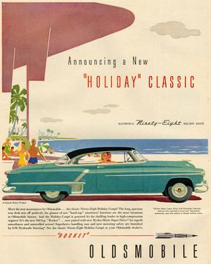 GM Oldsmobile-Holidy Classic98