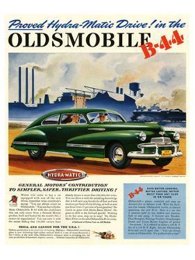 GM Oldsmobile-Hydramatic Drive