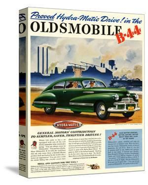GM Oldsmobile-Hydramatic Drive