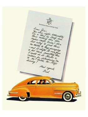 GM Oldsmobile-No Shift Driving