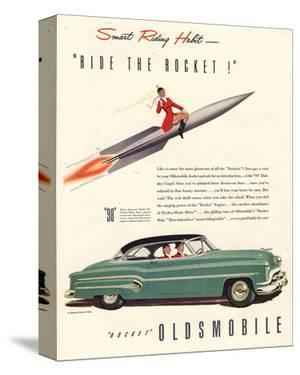 GM Oldsmobile- Ride the Rocket