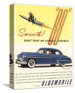 GM Oldsmobile - Rocket Engine