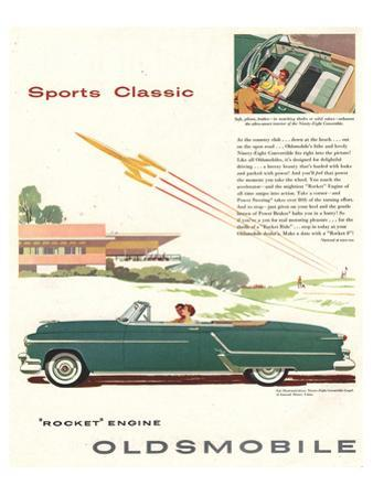 GM Oldsmobile - Sports Classic