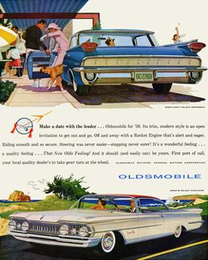 GM Oldsmobile- With the Leader