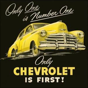 GM Only Chevrolet is First