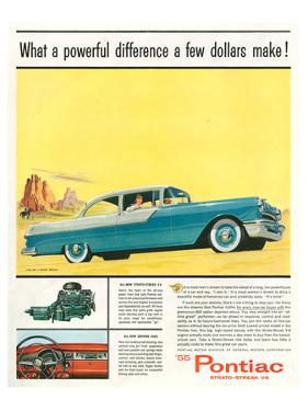 GM Pontiac '55 Stratostreak V8