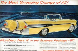 GM Pontiac '57 Sweeping Change