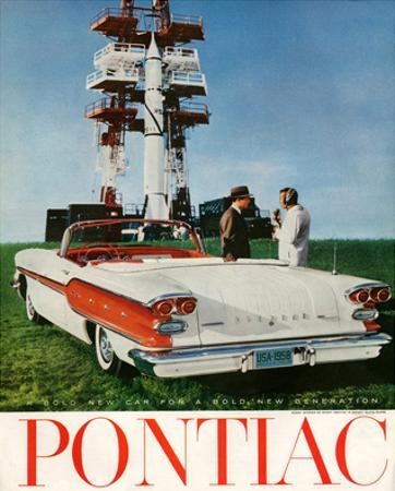 GM Pontiac-A Bold New Car