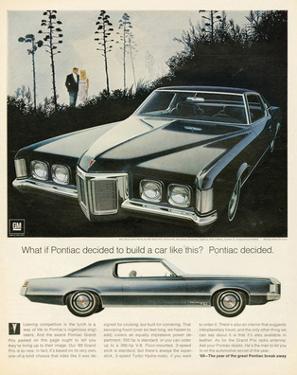 GM Pontiac - a Car Like This
