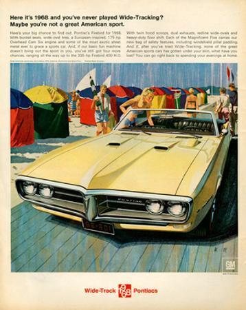 GM Pontiac - Here It's 1968…