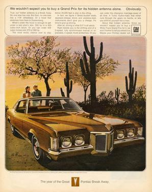GM Pontiac - Hidden Antenna
