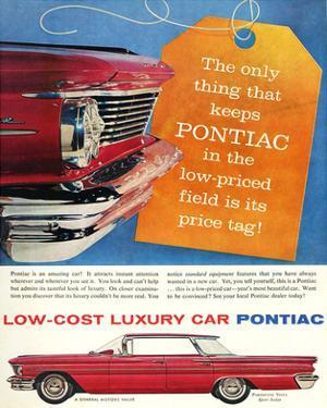 GM Pontiac - Low Cost Luxury