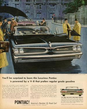GM Pontiac - Regular Grade Gas