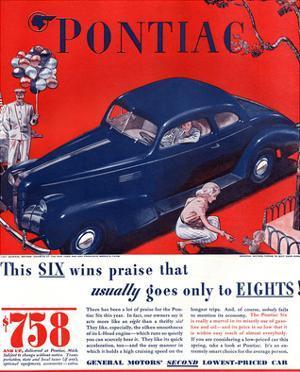 GM Pontiac - Six Wins Praise