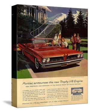 GM Pontiac - Trophy V-8 Engine