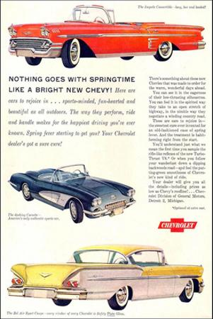 GM Springtime Bright New Chevy