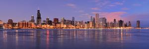 Chicago Skyline at Dawn by gnagel