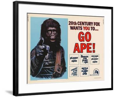 Go Ape (Planet of the Apes) -  Style--Framed Poster
