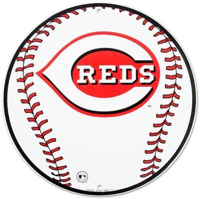 Go Cincinnati Reds Tin Sign