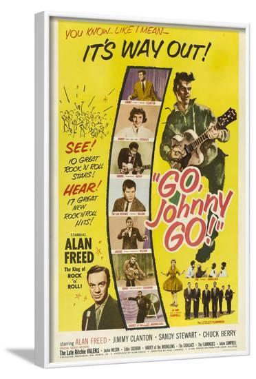 Go, Johnny, Go!--Framed Art Print