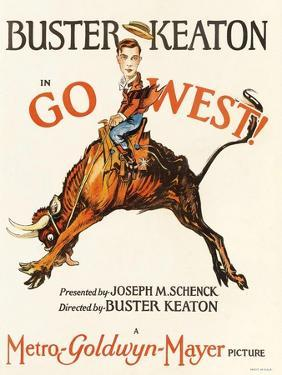 Go West, 1925, Directed by Buster Keaton