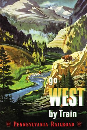 Go West By Train