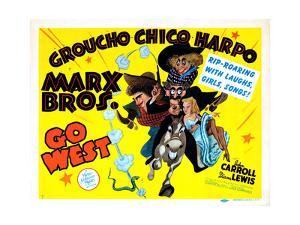 Go West, Chico Marx, Groucho Marx, Harpo Marx [The Marx Brothers], 1940