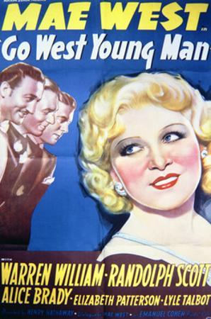 Go West Young Man - Movie Poster Reproduction