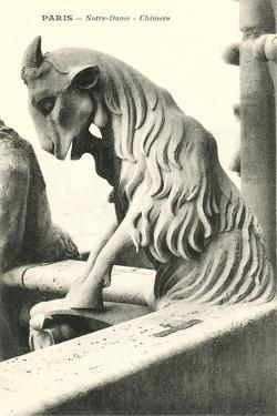 Goat Gargoyle, Notre Dame