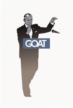 Goat POTUS - Mic Drop Sillhouette