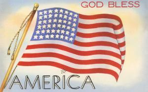 God Bless America, Flag