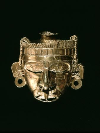 God Xipe Totec, Gold Mask, called Nuestro Senor el Desollado