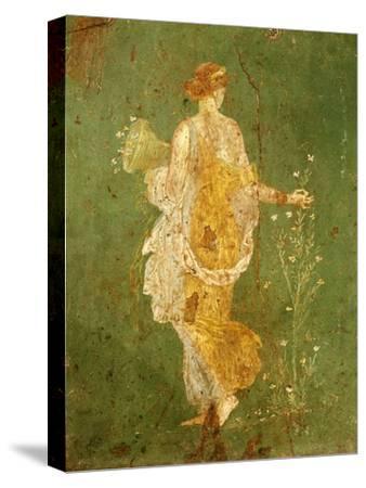Goddess Flora, or Spring, Roman, Fresco, from Villa di Arianna