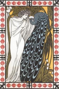 Goddess Juno and Peacock