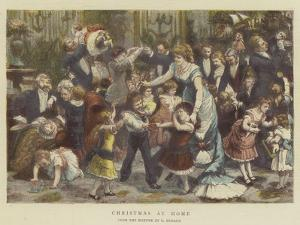 Christmas at Home by Godefroy Durand