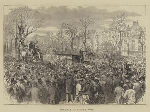 Funeral of Victor Noir by Godefroy Durand