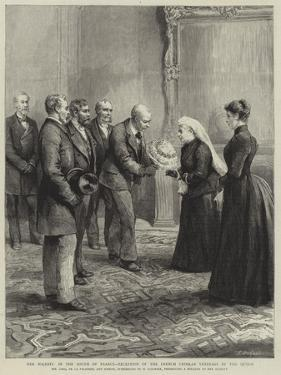 Her Majesty in the South of France, Reception of the French Crimean Veterans by the Queen by Godefroy Durand