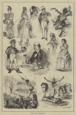 Music Hall Performers by Godefroy Durand