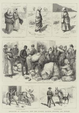 Smuggling at Gibraltar, How the Spanish Revenue Officers are Baffled by Godefroy Durand