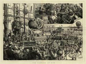 The Carnival at Nice by Godefroy Durand