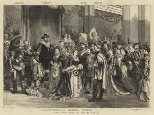 The Fancy Ball at Dublin Castle by Godefroy Durand
