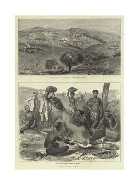 The Zulu War by Godefroy Durand