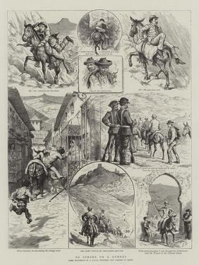 To Ximena on a Donkey by Godefroy Durand