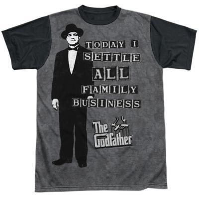 Godfather- Family Business Settled Black Back