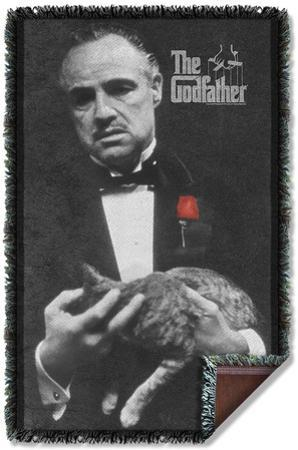 Godfather - Poster Woven Throw