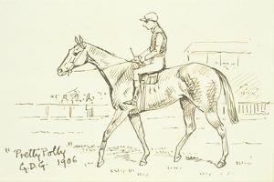 'Pretty Polly', 1906 by Godfrey Douglas Giles