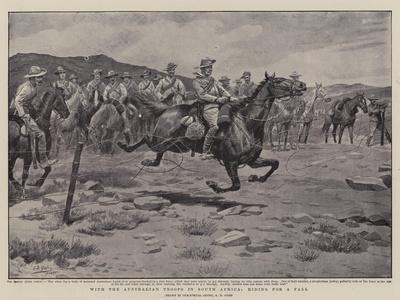 With the Australian Troops in South Africa, Riding for a Fall