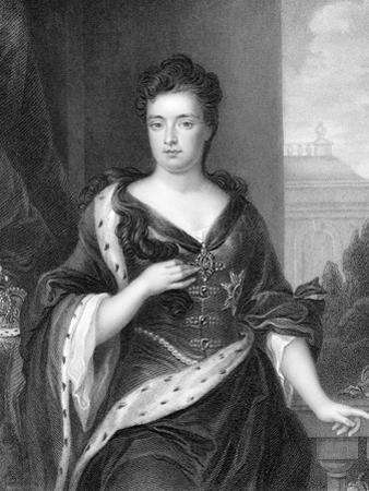 Anne, Queen of Great Britain and Ireland from 1702 by Godfrey Kneller